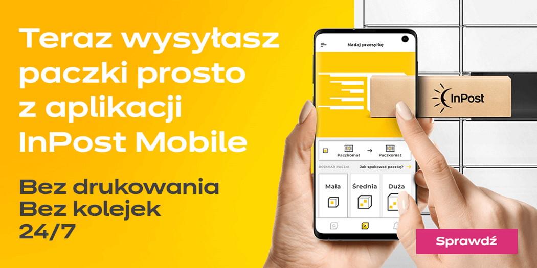 Nadawaj paczki bez etykiety prosto w aplikacji InPost Mobile!