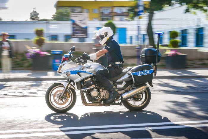 Policja Cieszyn: Pościg ulicami Cieszyna